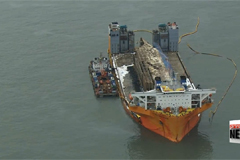 Sewol-ho ferry to be transported to Mokpo Thursday