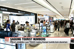 Number of Chinese travelers to South Korea drops sharply after tour ban