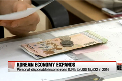 Korean economy grows 2.8% in 2016