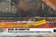 Sewol-ho recovery operation back on track after slight delay