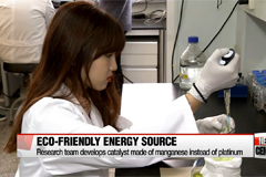 New catalyst developed that provides eco-friendly energy source