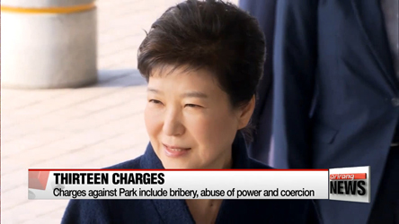 Ex-President Park to attend arrest warrant hearing on Thursday