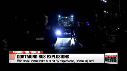 Borussia Dortmund's bus hit by explosions, Bartra injured