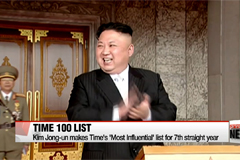 Kim Jong-un makes Time's '100 Most Influential' list for 7th straight year