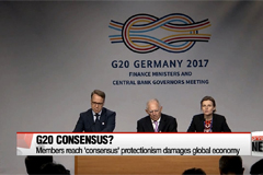 G20 members reach 'consensus' protectionism damages global economy
