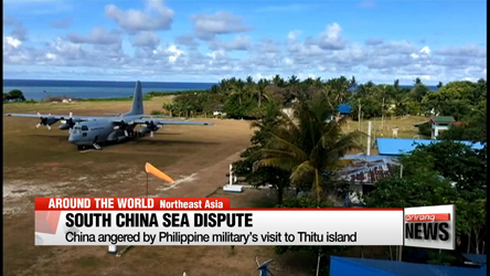 China angered by Philippine military's visit to South China Sea island