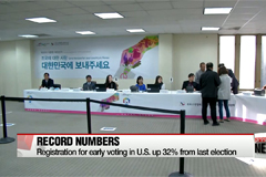 Early voting for overseas Koreans underway