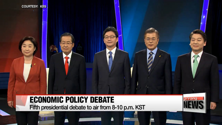 Candidates to lay out economic policies in fifth presidential debate Friday