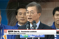 Moon Jae-in tours liberal stronghold of Jeolla-do to build on support