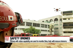 Seoul's firefighters expand drone use on regular safety calls