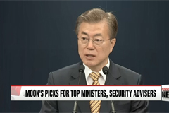 South Korean President Announces Chief of National Security and Policy