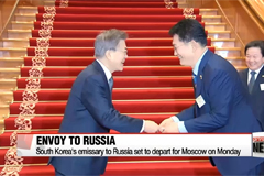South Korea's special envoy to Russia set to depart for Moscow