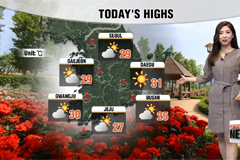 Sunny skies and hot highs along with high ozone levels