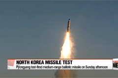 North Korea conducts second missile test in space of week