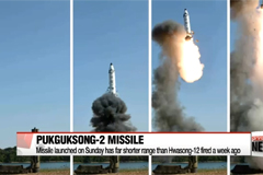S. Korea's defense ministry offers latest take on N. Korea's missile test