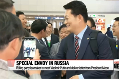 South Korea's special envoy to Russia arrives in Moscow