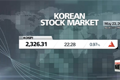 KOSPI hits new high in Tuesday trading