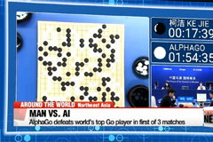 AlphaGo defeats world's top Go player in first of 3 matches