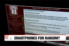 Smartphone users vulnerable to ransomware threat