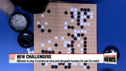 AlphaGo to play 5 humans at once