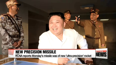 North Korea reveals missile launch was of new 'ultra-precision' rocket
