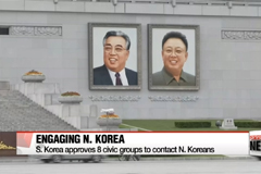 8 civic groups allowed to contact North Korea for humanitarian and religious exchange