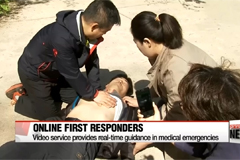 Live video links give medical emergency guidance