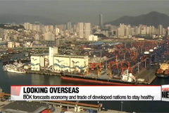 Bank of Korea says nation needs to look overseas to sustain economic recovery