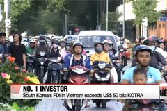 South Korea's FDI in Vietnam exceeds US $50 bil.: KOTRA