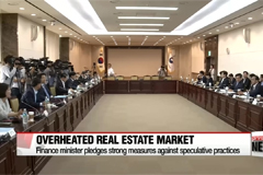 New finance minister on overheated real estate market