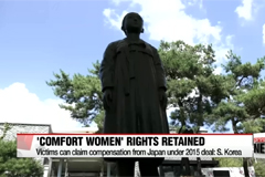 'Comfort women' victims retain rights to personal claims against Japan despite 2015 deal