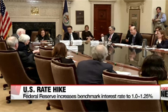 U.S. Fed raises benchmark interest rate for third consecutive quarter
