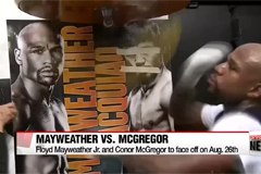 Floyd Mayweather-Conor McGregor fight confirmed for Aug. 26
