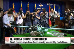 Scientific probe concludes that recent drone was sent from North Korea