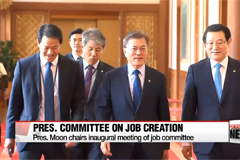 President Moon calls for job creation roadmap by end of August