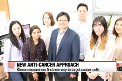 Korean researchers find new way to tackle cancer cells