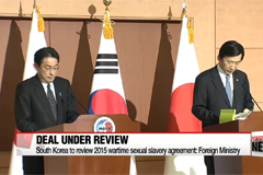 South Korea to review 2015 wartime sexual slavery agreement: Foreign Ministry