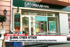 Companies worldwide hit by massive cyber attack