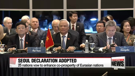 25 nations vow to enhance co-prosperity of Eurasian nations