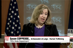 U.S. downgrades China to one of worst offenders of human trafficking