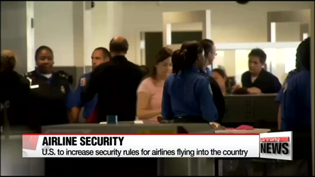 U.S. tightens airline security measures