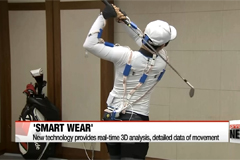 'Smart wear' technology to be applied to golf, medical field