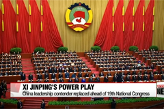 Chinese leadership contender removed from position, placed under investigation