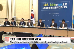 Moon administration's first finance strategy meeting comes to an end