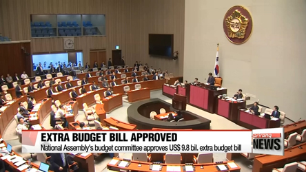 National Assembly's budget committee approves extra budget bill