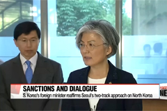 S. Korea's foreign minister reaffirms Seoul's two-track approach on N. Korea
