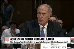 Kim Jong-un is very unusual type of person but is not crazy: U.S. intelligence chief
