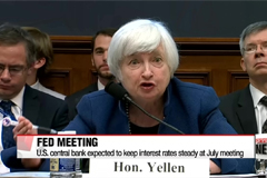 U.S. Federal Reserve not expected to raise interest rates at July meeting