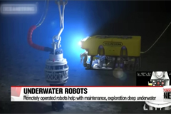 Remotely operated underwater robots help with maintenance, exploration in deep waters