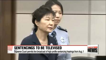 Supreme Court permits live broadcasting of high profile sentencing hearings from Aug. 1
